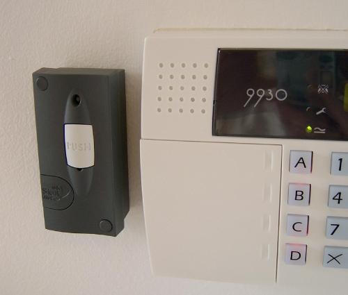 Burglar Alarm Monitor For Deaf Deaf Blind And Hard Of
